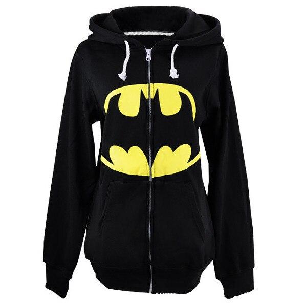 Горячие Стиль мужские осень новая куртка с капюшоном New Cool Бэтмен Толстовка Черный Толстовка для продажи 2014