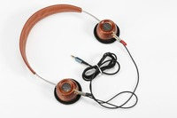 metal wood Retro headphone 32ohms 40mm driver
