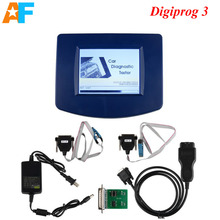 Free shipping! Digiprog III Digiprog 3 Odometer Programmer with OBD2 ST01 ST04 Cable Digiprog3 Master Programmer