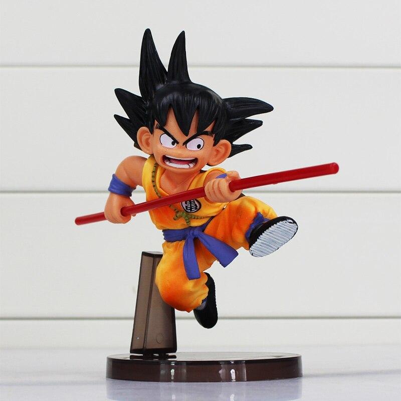 Dragon Ball Toys : Dragon ball figures toys cm sun goku childhood edition