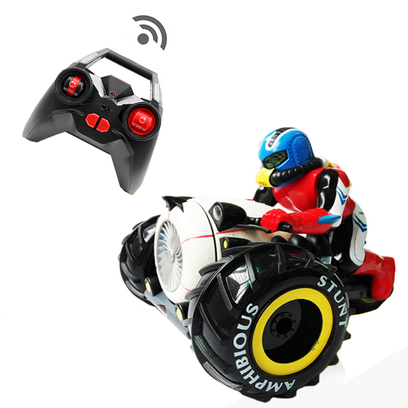 RC Car Dirt Bike Rock Crawler 2.4G Amphibious Radio Control Motorcycle Stunt Racing Vehicle Model Light Electric Hobby Toys rgt 136100 electric racing 4wd off road rock crawler rc car rock cruiser rc 4 climbing 1 10 scale hobby remote control car