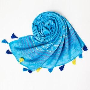 Image 5 - 럭셔리 브랜드 코튼 여성 스카프 박탈 소프트 빈티지 스카프 술 스톨 겨울 목도리 여성 pashmina bandana foulard cachecol