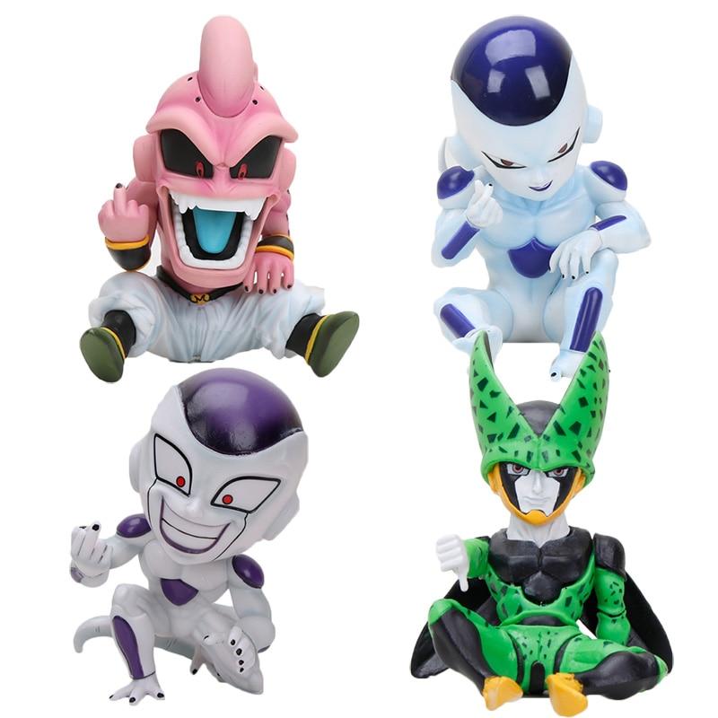 DragonBall Z Tenkaichi 2 Krillin Electroplated Mental Color PVC Figure