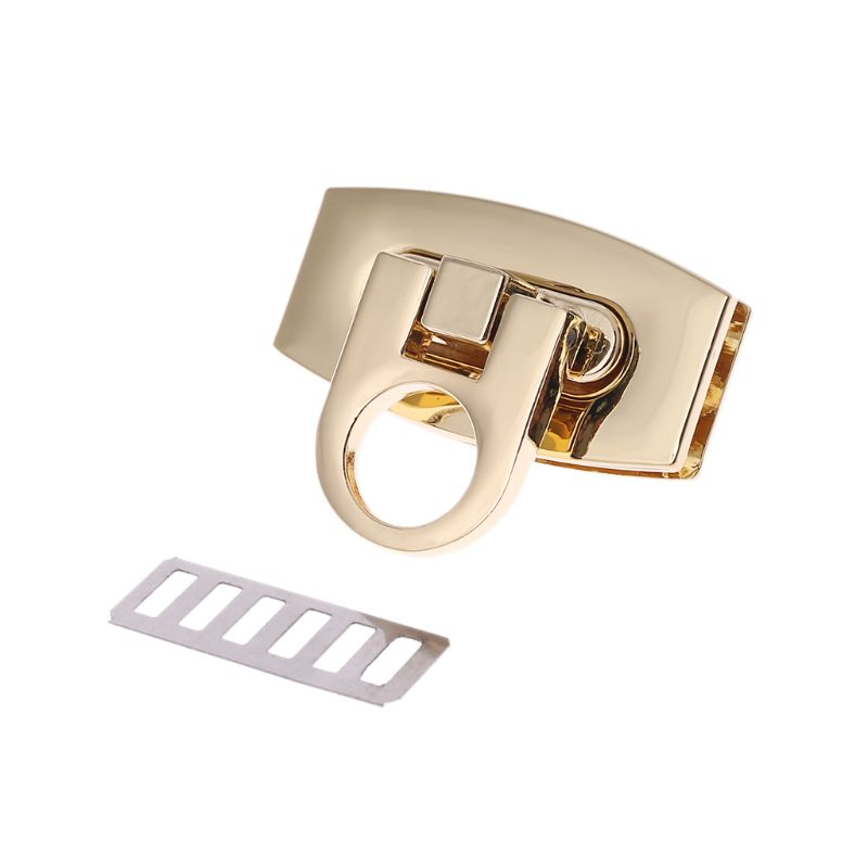 High Quality Metal Clasp Turn Lock Twist Locks For Handbag Shoulder Bag Purse Hardware DIY Accessories