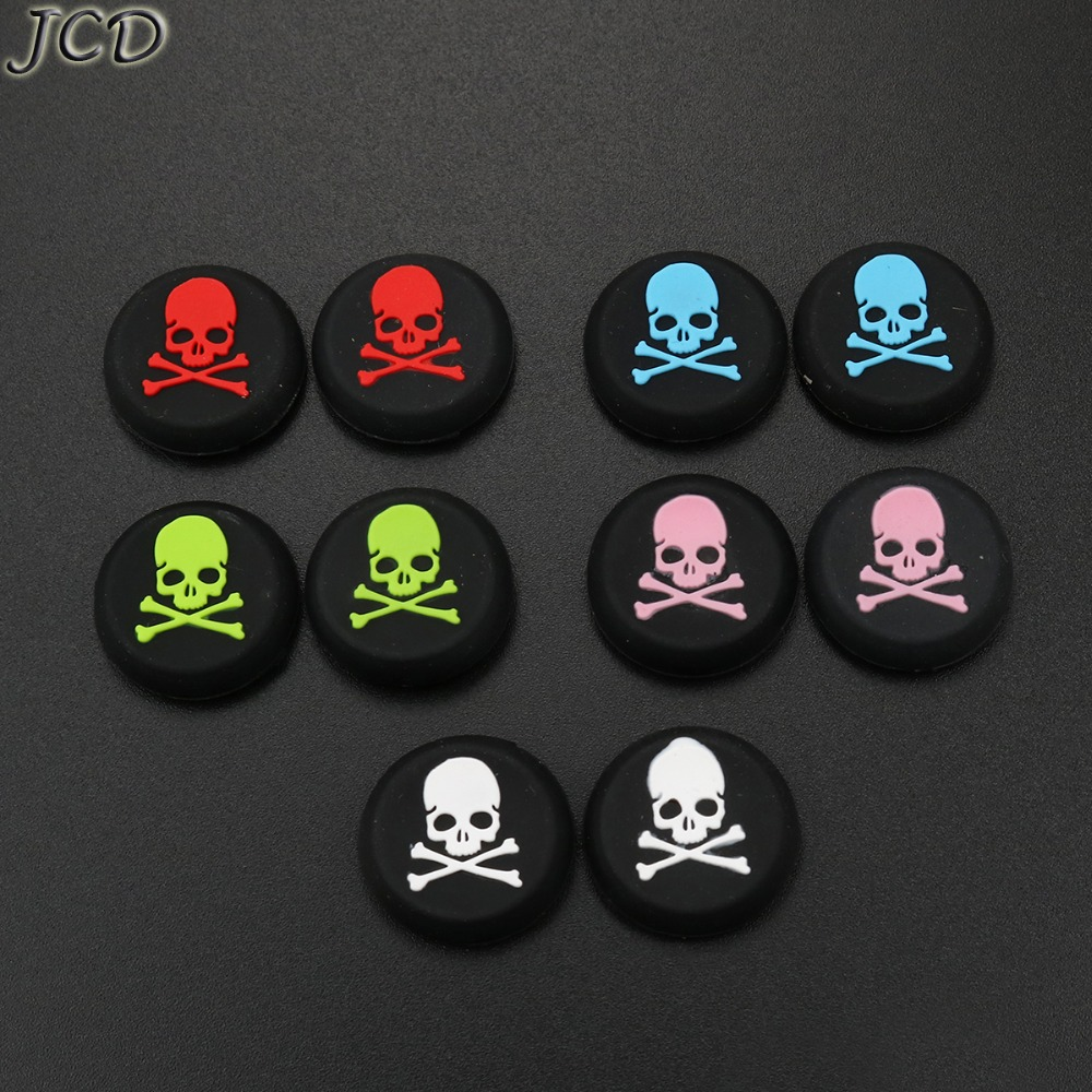 JCD Skull Thumb Cap Stick Grip Joystick Cap Cover Key Protector For Ps3 For PS4 For XBOX One / 360 Controller