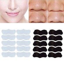 10 шт. маска для ухода за кожей лица, для удаления черных точек, для удаления акне, прозрачная маска для удаления черных точек, 3 шага, комплект, полоски для удаления пор в глубоком носу