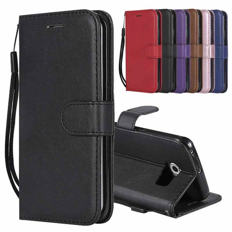 Case For Samsung Galaxy S6 S6 Edge Plus Case Leather Flip Wallet Cover For Samsung S6 Edge Plus Case Cover Galaxy S 6 Phone Case