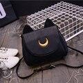 Cartoon bag, ladies shoulder bag, 2016 new pu leather casual messenger bag Women shoulder bag diagonal