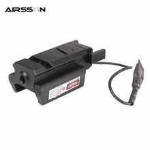Outdoor Hunting Optics Accessories Tactical Red Laser Sight Laser Pointer Military Airsoft Target Aimming for Gun Pistol Shot