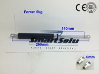 Free Shipping 290mm Length Gas Spring For Office Chair Chair Part Gaslift 5kg