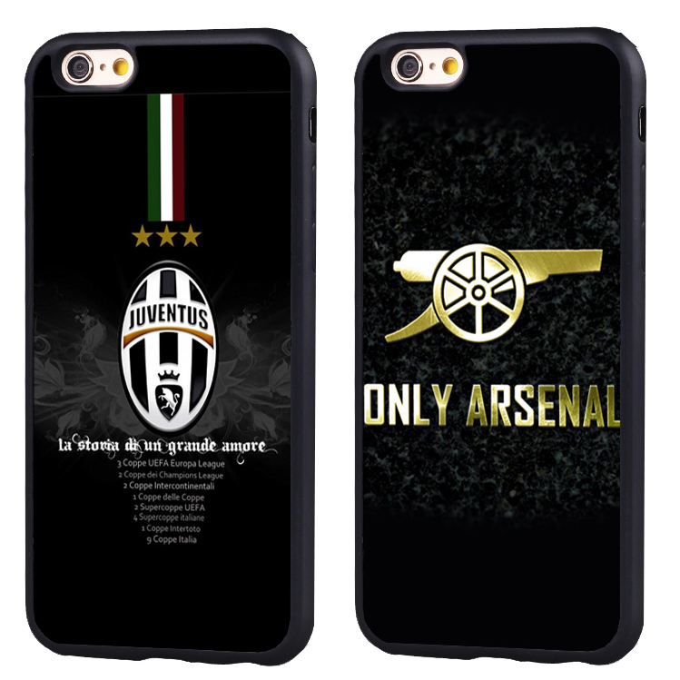 Soccer Star juventus football club Soft TPU Silicone case Cover For iPhone X 8 7 7Plus 6 6S Plus 5 5S SE