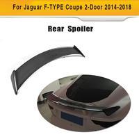 Carbon Fiber Car Rear Spoiler Lip Wing for Jaguar F TYPE Coupe 2014 2018 R S SVR 400 Sprot