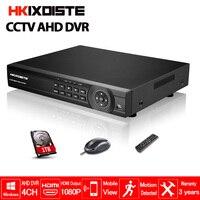 4 CH AHD 1080N 1080P DVR Hybrid Video Recorder Support AHD TVI CVI CVBS IP Cameras