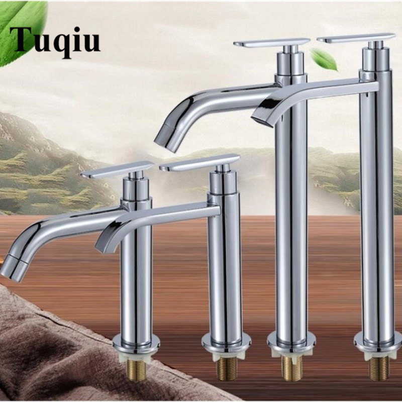 Stainless steel bathroom lavatory single cold sink faucet single cold single handle basin faucet chromeStainless steel bathroom lavatory single cold sink faucet single cold single handle basin faucet chrome