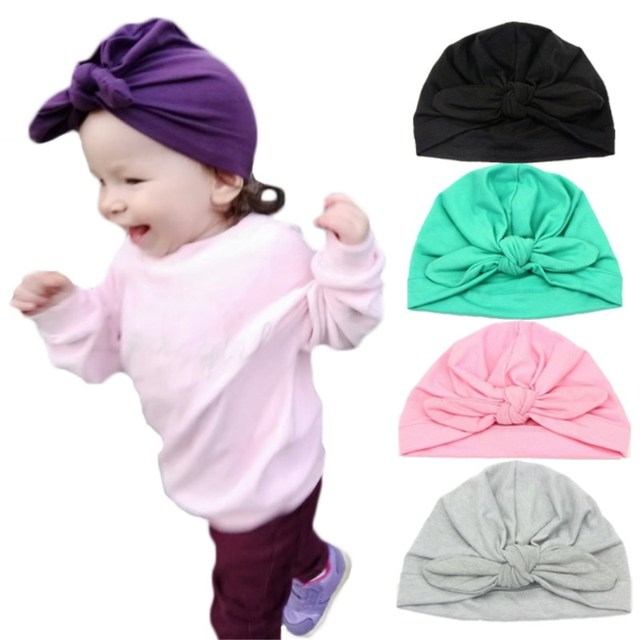 0c85c969b72 Lawadka Hat for Girls Cotton Solid Cap for Boy Spring Autumn Baby Hats  Newborn Photography Props