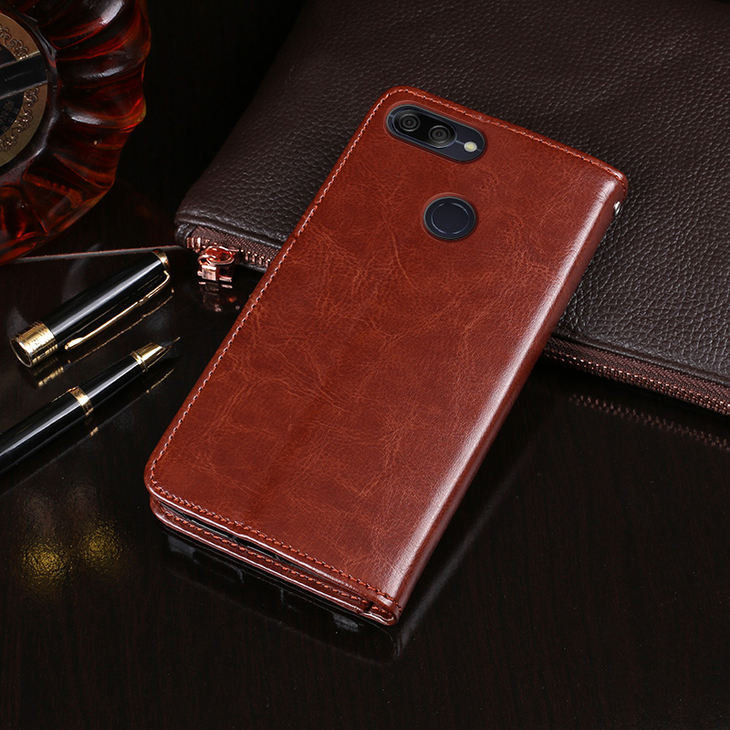 Itgoogo For Asus Zenfone Max Plus ZB570TL Case Cover Hight Quality Flip Leather Case For Asus Max Plus M1 X018DC Cover Phone bag