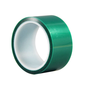 Heat-resistant PET High Temperature Green Masking Shielding Tape For PCB Solder Plating Insulation Protection Tape