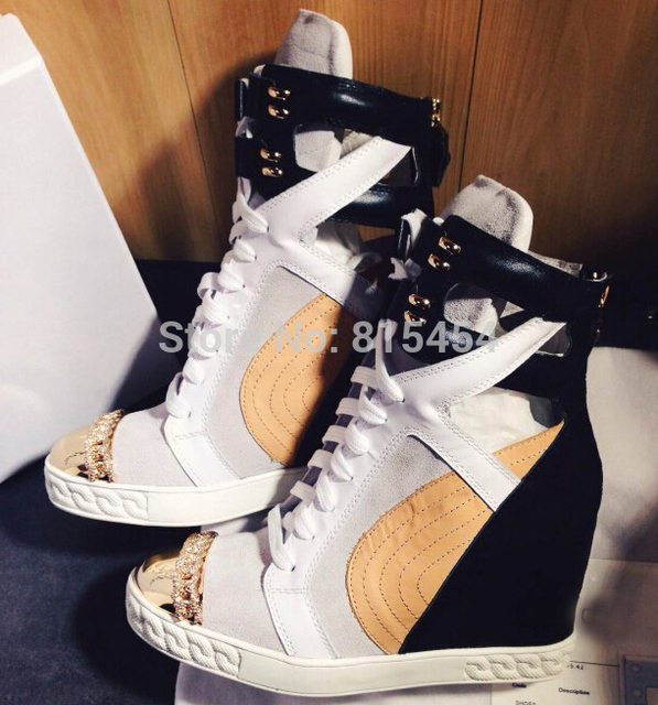 Height Increasing Designer Casual Women Wedges Shoes