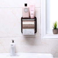High quality PP plastic Toilet Paper Holder wall mounted waterproof roll paper storage rack kitchen bathroom accessories