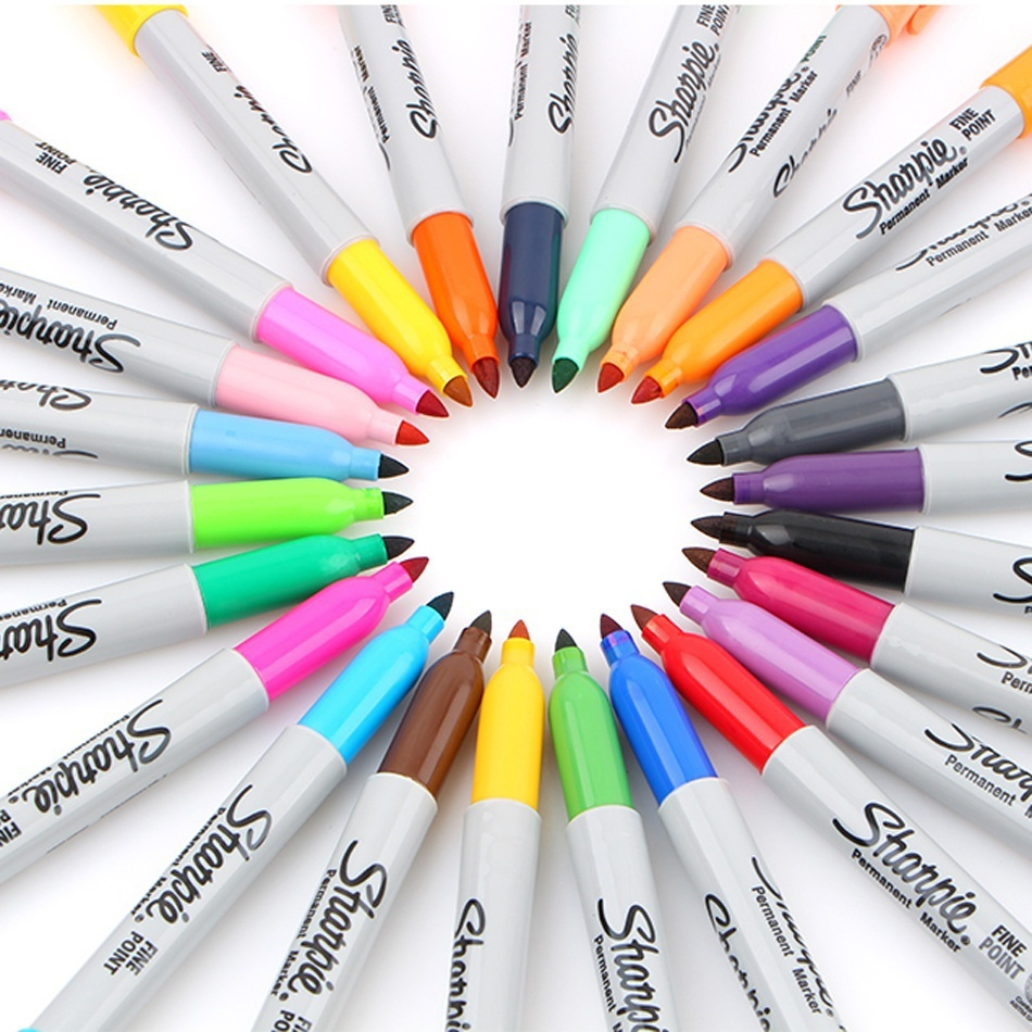 1 Pcs Sharpie Fine-Tip Permanent Markers Sharpie Fine Point Permanent Marker