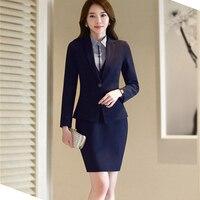Rok pak vrouw pakken office uniform ontwerpen vrouwen elegante rok werk pak pak voor vrouwen plus size nieuwe