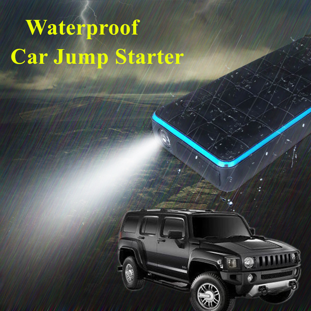 Super 1000A Waterproof Car Jump Starter Power Bank 12V Starting Device Petrol Diesel Car Charger For
