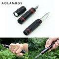 Proteção de segurança Tactical Pen Self Defense Multifuncional Lanterna LED Torch self-defense Emergência Ferramenta de Sobrevivência Ao Ar Livre