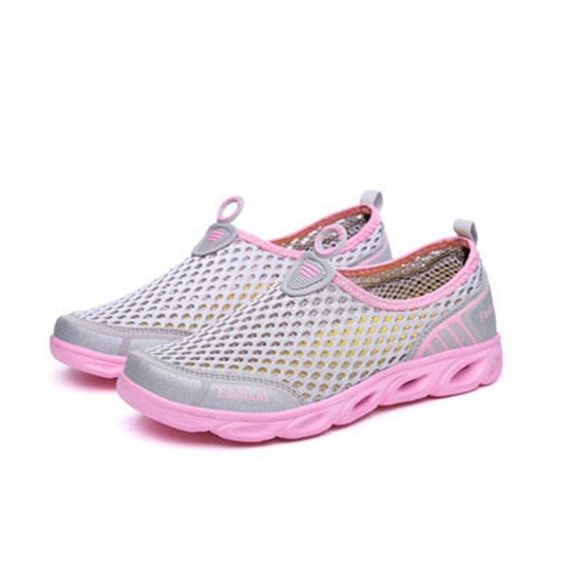 FONIRRA Verano Zapatos Casual Mujer Slip-On Plataforma Pisos Mujer - Zapatos de mujer - foto 4