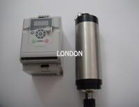 ER20 2.2KW wasserkühlung CNC frässpindel 24000 rpm + 1 stück 2.2KW VFD wechselrichter