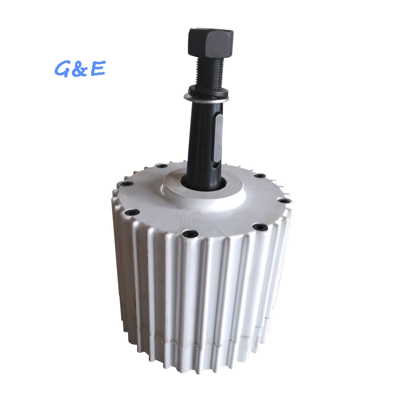 2KW 48V Alternator Low Speed PM Permanent Magnet Generator With DC Waterproof Controller