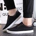 Осенние мужчины кроссовки мокасины джокер студент хан издание мужская обувь зима холст обувь обувь мокрой обуви