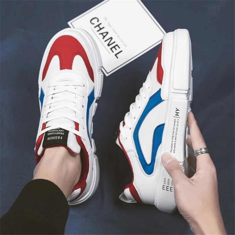 NEW Spring And Summer Fashion Mens Casual Sport Shoes Lace-Up Breathable Shoes Sneakers Mens Trainers Zapatillas Hombre