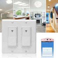 Voice Control Us Standard Automation Panel Home APP Remote PC Smart WIFI Wall Switch Touch Timing Light Accessories For Alexa