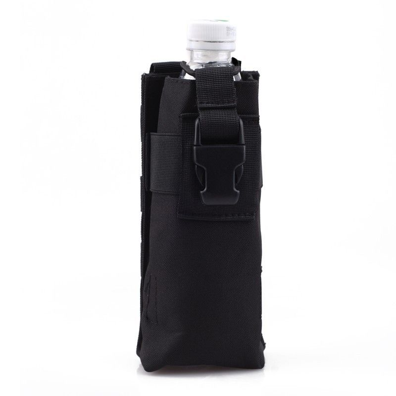 Tactical Molle Water Bottle Pouch Sports Bag Combined Open Top Military Outdoor Hunting Pack 7 Colors - Act4Ring store
