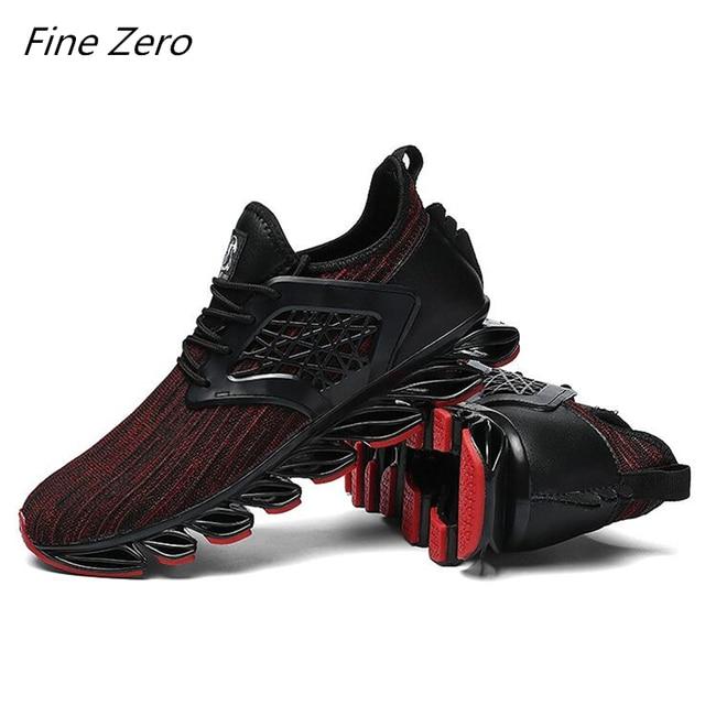 gran selección de ad282 8dfb9 € 11.4 45% de DESCUENTO|Aliexpress.com: Comprar Zapatos deportivos para  hombre de malla transpirable zapatos para correr para hombre al aire libre  ...