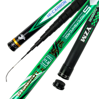 High Carbon 8m 9m 10m 11m 12m 13m Power Hand Pole Fishing Rod Super Light Strong Action Telescopic Pole Rods
