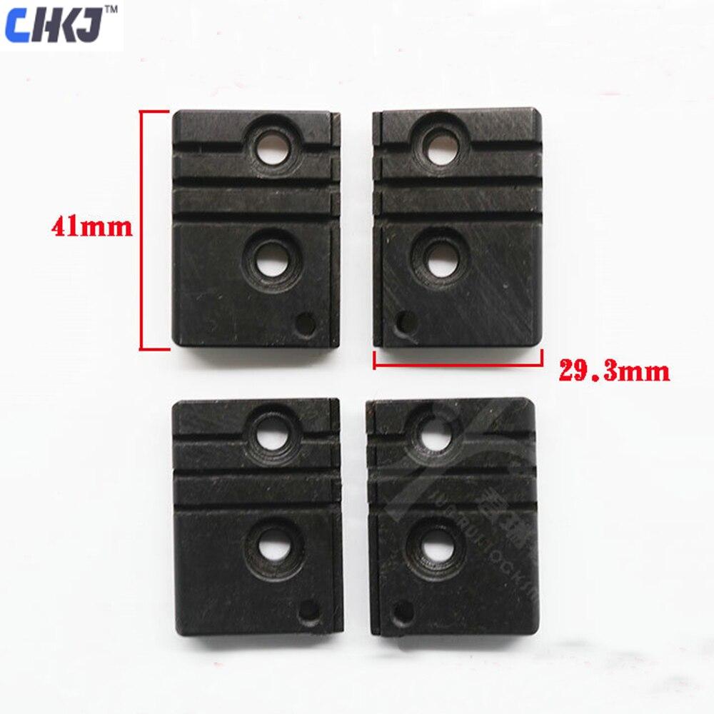 CHKJ 4 pçs/lote Especial de Fixação Da Braçadeira Para Wenxing Máquina Chave Vertical de Fixação Originais Q30A Frete Grátis