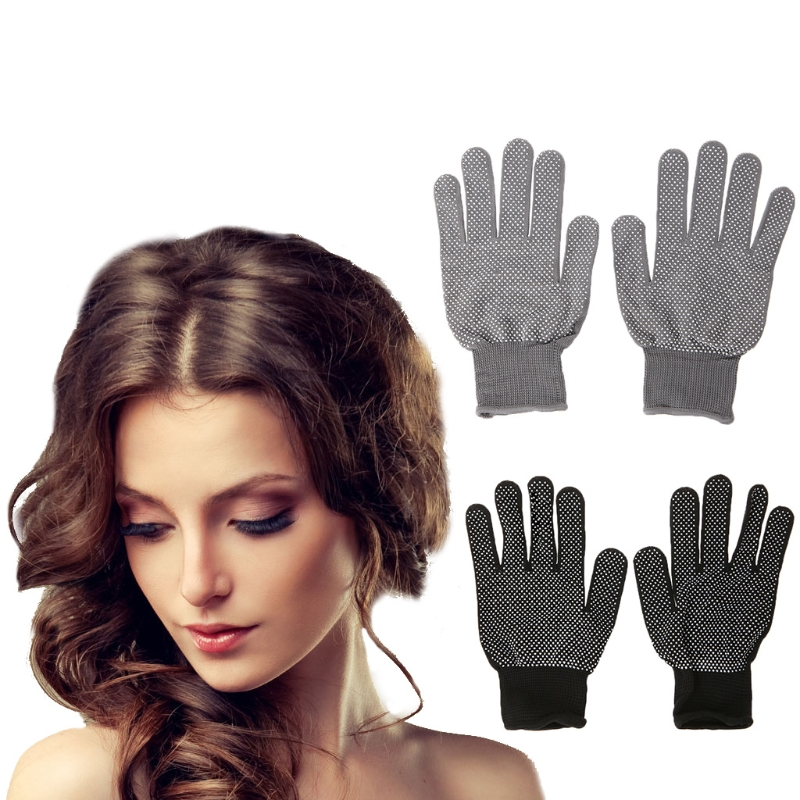 1 Pack 2pcs Heat Resistant Protective Glove Hair Styling For Curling Straight Flat Iron High Quality New Hair Care Styling Tools