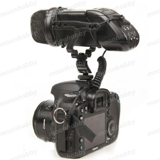 BOYA BYV03 Stereo Video Microphone for DSLR Camera Audio Recorder Free Shipping With Tracking