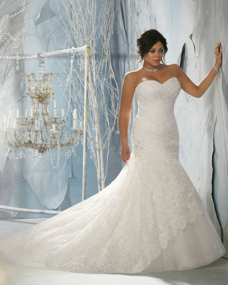 Awesome Wedding Dress Ideas For Plus Size Vignette - All Wedding ...
