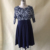 5xl 6xl grande tamanho 2017 primavera verão outono dress grande tamanho impresso dress patchwork casual solto dress plus size mulheres roupas