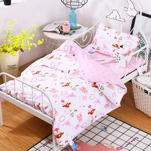 Bedding-Set Crib-Organizer Baby Bebe Jogo-De-Cama-Kit Cuna Bett 6pieces/Set