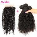 Peruvian Virgin Hair With Closure 4 Piece Peruvian Human Hair And Closure peruvian kinky curly virgin hair with closure