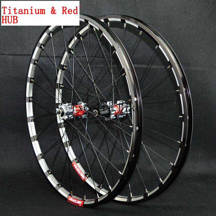 Aluminium Alloy Wheelset 26/27.5 Mountain Bicicleta 2627.5 MTB CNC front 2 rear 4 bearings disc brake 1Pairs Wheels only 1750g 2018 anima 27 5 carbon mountain bike with slx aluminium wheels 33 speed hydraulic disc brake 650b mtb bicycle