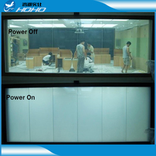 High Tech switchable smart window film Building using pdlc film switchable privacy film with best supply