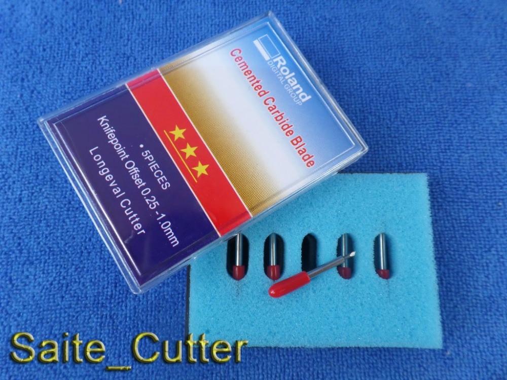 5 Pcs 45 Degree High Quality Roland Blades Vinyl Cutter Plotter Roland Cutting Plotter Blades