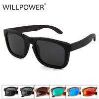 Hot Sale 2017 New Handmade Bamboo Eyewear Eyeglasses Men Polarized Wood Wooden Sunglasses