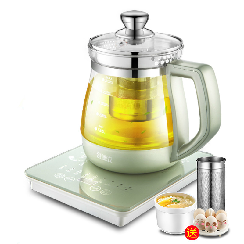 Automatic Multi - Functional Thickening Glass Kettle Chinese Medicine Pot Electric Decoction Pot Teapot Pot New Health Kettle