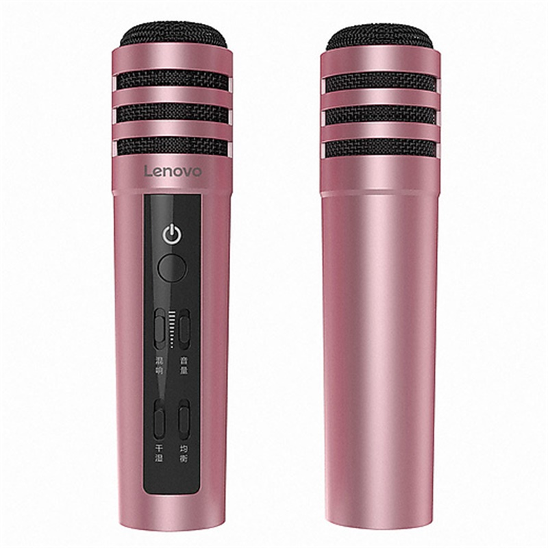 Lenovo Microphone UM10C live version portable Wireless Karaoke Microphone Professional Handheld lenovo UM10C For Smartphone