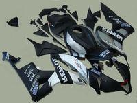 L36 100% fit injection mold for fairings CBR600RR 2007 2008 black silver fairing kit 07 08 CBR 600RR